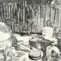 Rincón de un tapicero y cepillo