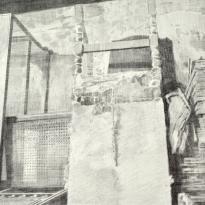 Rincón de un tapicero y silla