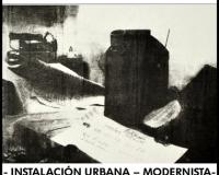 Instalación urbana - modernista, 2015